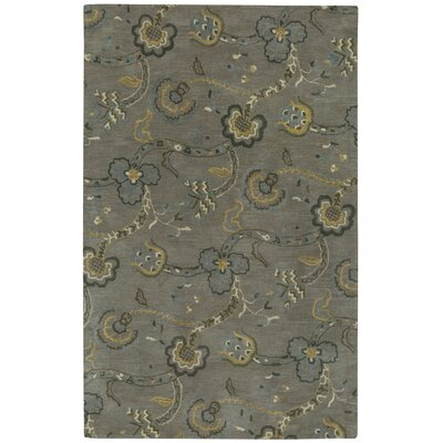 Williamsburg Sheffield Hand-Tufted Silver/Beige Area Rug Rug Size: 8 x 11