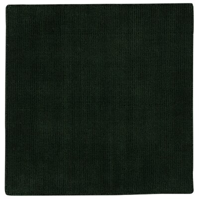 Shelbourne 2.2 Hand Tufted Emerald Area Rug Rug Size: 36 x 56