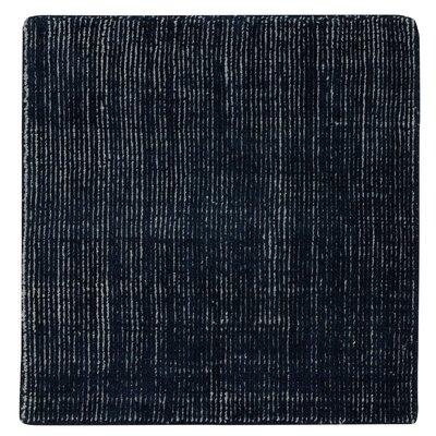 Shelbourne 2.2 Hand Tufted Deep Blue Ash Area Rug Rug Size: 9 x 12