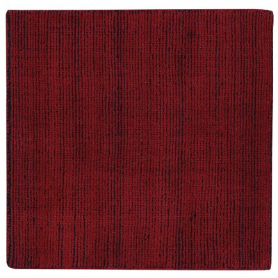 Shelbourne 2.2 Hand Tufted Ruby Deep Blue Area Rug Rug Size: 36 x 56