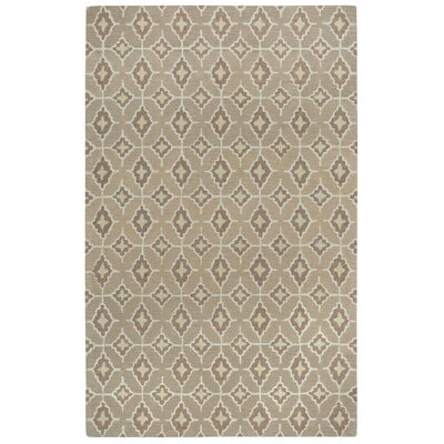 Kevin OBrien Rossio Hand Tufted Biscuit/Yellow Area Rug Rug Size: 7 x 9