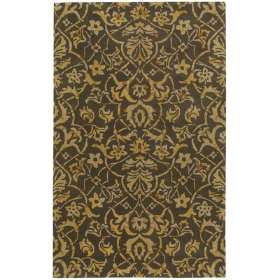Monaco Hand Tufted Mushroopm White Wine Area Rug Rug Size: 8 x 11