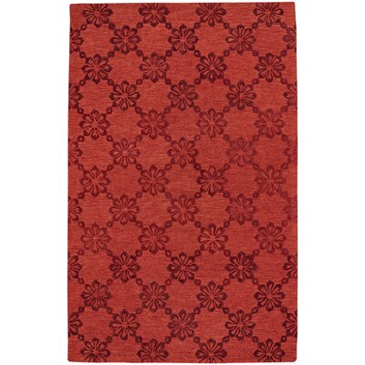 Kevin OBrien Hand Tufted Cardinal Area Rug Rug Size: 8 x 11