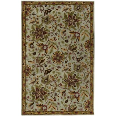 Orinda Floral Hand Tufted Area Rug Rug Size: 8 x 11