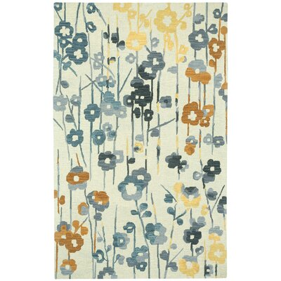 Branch Hand Tufted Area Rug Rug Size: 5 x 8