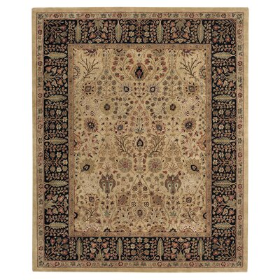Forest Park Persian Cedars Dark Beige Area Rug Rug Size: Rectangle 96 x 136