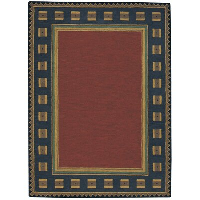 Castle Rock Riverwood / Poppy Area Rug Rug Size: Round 8
