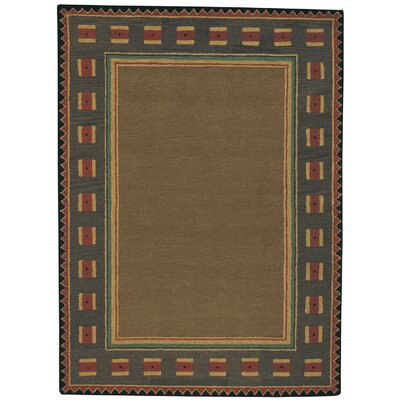 Riverwood / Brown Rug Size: Round 8