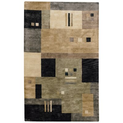 Left Bank Onyx Multi Rug Rug Size: 5 x 8
