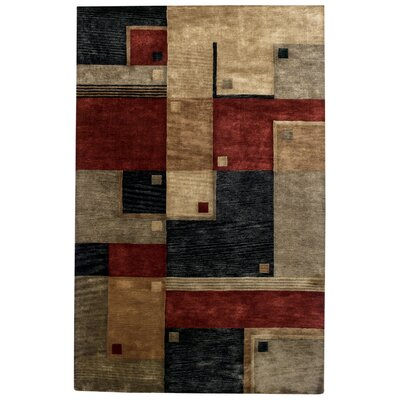 Left Bank Poppy Multi Rug Rug Size: 5 x 8