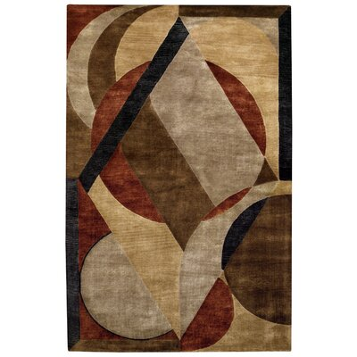 Left Bank Sandy Beach Multi Rug Rug Size: 5 x 8