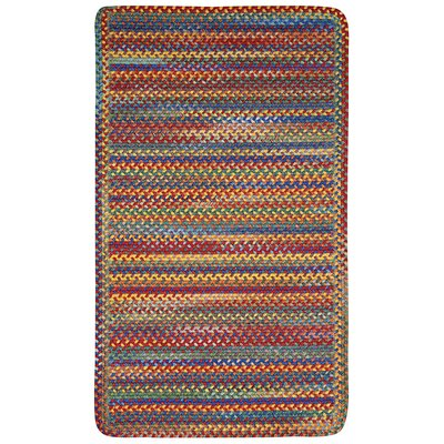 Kill Devil Hill Bright Multi Rug Rug Size: Oval 11'4