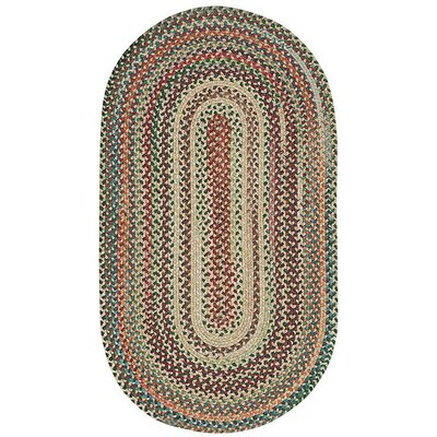 Sherwood Forest Amber Area Rug Rug Size: Oval 3' x 5'