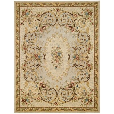 Evelyn Beige Area Rug Rug Size: 9 x 12