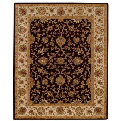 Monticello Cocoa/Wheat Keshan Area Rug Rug Size: 4 x 6