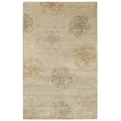 Desert Plateau White Wine Hibiscus Area Rug Rug Size: 5 x 8