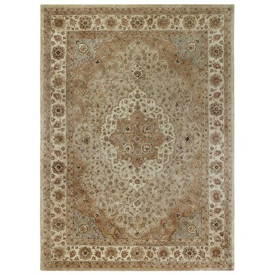Forest Park Brown Tabriz Area Rug Rug Size: 86 x 116