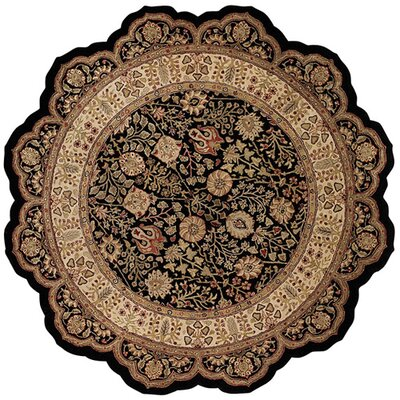Forest Park Cedars Onyx Persian Area Rug Rug Size: Rectangle 4 x 6