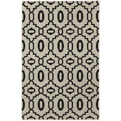 Anchor Grey Area Rug Rug Size: 3 x 5