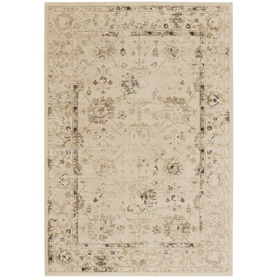 Channel Buff Indoor/Outdoor Area Rug Rug Size: 53 x 76