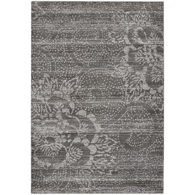 Channel Gray Indoor/Outdoor Area Rug Rug Size: 53 x 76