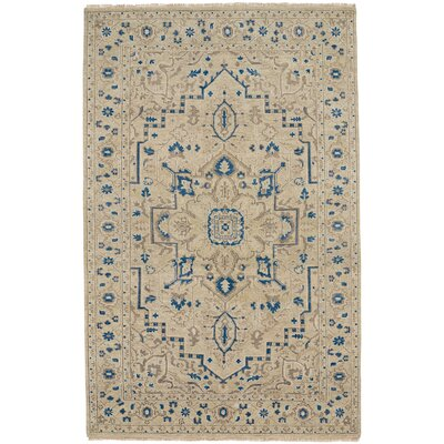 Inspirit Hand-Knotted Dawn Area Rug Rug Size: Runner 26 x 9