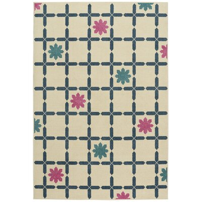 Grasso Blue Indoor/Outdoor Area Rug Rug Size: 310 x 55
