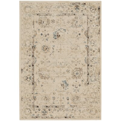 Channel Mushroom Indoor/Outdoor Area Rug Rug Size: 53 x 76