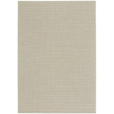 Ridge Grain Indoor/Outdoor Area Rug Rug Size: 53 x 76