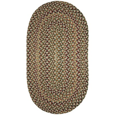 Pristene Herb Area Rug Rug Size: Oval 23 x 4