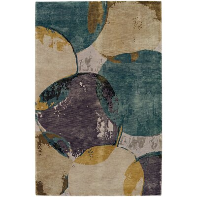 Specter Hand-Knotted Dew Area Rug Rug Size: 7 x 9