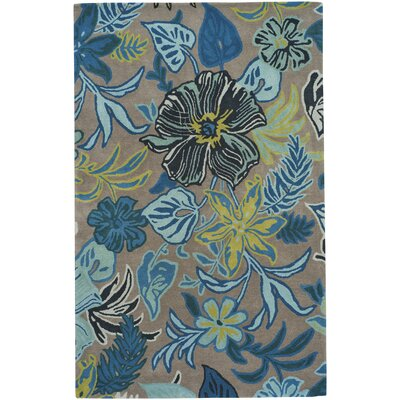 Blooming Hand-Tufted Fawn Area Rug Rug Size: 8 x 10