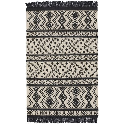 Genevieve Gorder Black/White Area Rug Rug Size: 5 x 8
