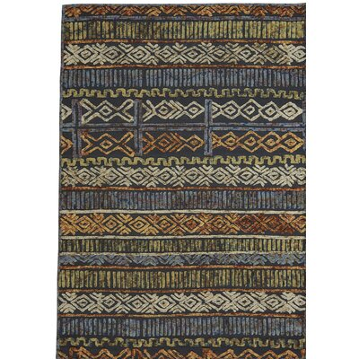 Congo Hand-Tufted Ash Area Rug Rug Size: Rectangle 7 x 9