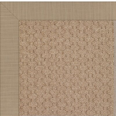 Zoe Brown Indoor/Outdoor Area Rug Rug Size: Rectangle 2 x 3