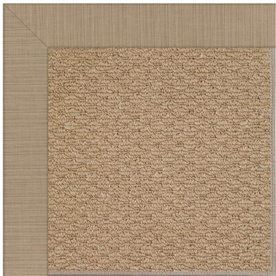 Zoe Brown Indoor/Outdoor Area Rug Rug Size: Rectangle 7 x 9