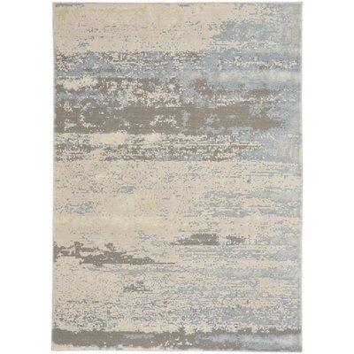 Kathmandu Silver/Beige Area Rug Rug Size: 8 x 11