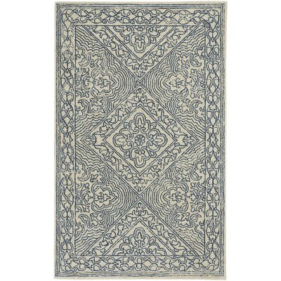 Allure Hand-Tufted Beige Area Rug Rug Size: 8 x 10