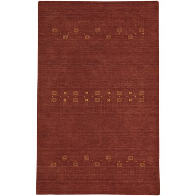 Gava Hand-Tufted Clay Area Rug Rug Size: 5 x 8