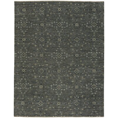 Heavenly Hand-Knotted Iron Area Rug Rug Size: 10 x 14