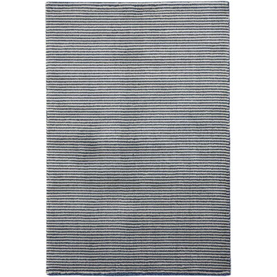 Gravitation White/Blue Area Rug Rug Size: 311 x 56