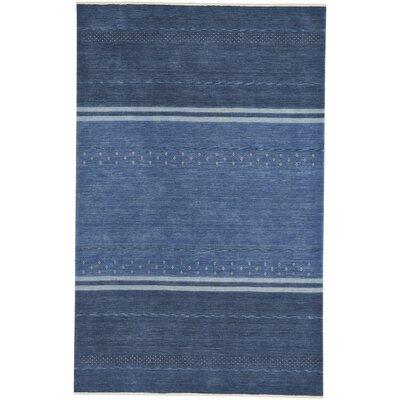 Gava Hand-Tufted Cobalt Area Rug Rug Size: 5 x 8