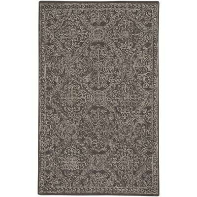 Allure Hand-Tufted Coffee Area Rug Rug Size: 5 x 8