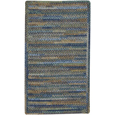 Habitat Ocean Blue Area Rug Rug Size: Rectangle 114 x 144