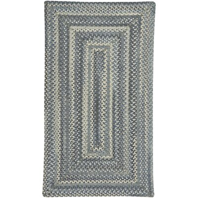 Tooele Blue Jean Area Rug Rug Size: Rectangle 114 x 144