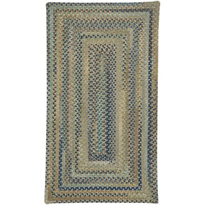 Tooele Green Area Rug Rug Size: Rectangle 7 x 9