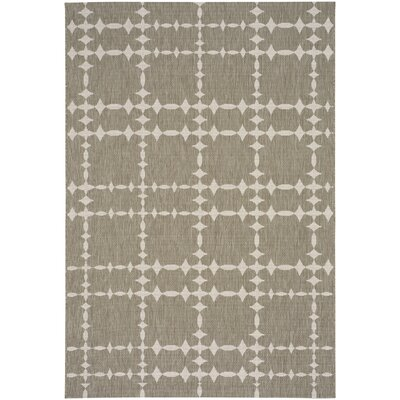 COCOCOZY Elsinore Tower Court Wheat Indoor/Outdoor Area Rug Rug Size: 311 x 56