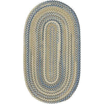 Tooele Light Tan Area Rug Rug Size: Oval 92 x 132