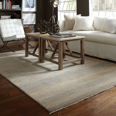 Alameda Light Beige Area Rug Rug Size: Runner 26 x 8