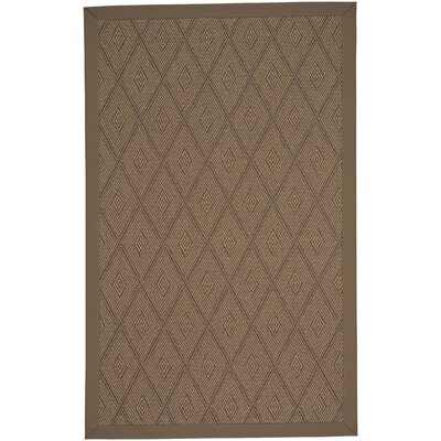 Gresham Umber Brown Indoor/Outdoor Area Rug